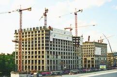 Construction en plein essor Image libre de droits