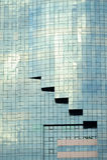 Construction en verre Image stock