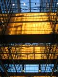 Construction en verre #2 intérieur Image libre de droits