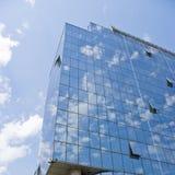 Construction en verre d'affaires modernes photo libre de droits