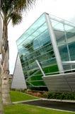 Construction en verre moderne Photos libres de droits