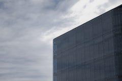 Construction en verre moderne Images stock