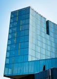 Construction en verre moderne Photographie stock libre de droits