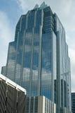 Construction en verre moderne Photos stock