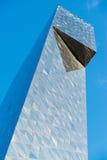Construction en verre moderne dans l'abstrait Image libre de droits