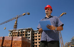 Construction engineer Stock Image
