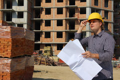 Construction engineer Stock Photography