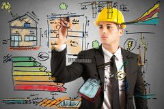 Construction engineer Royalty Free Stock Photo