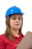 Construction engineer Royalty Free Stock Photography