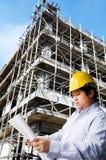 Construction engineer. Stock Photos