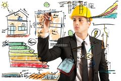 Construction engineer Stock Photo