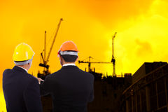 Construction engineer Royalty Free Stock Images