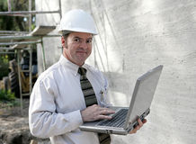 Construction Engineer Online stock photography