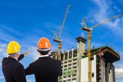 Construction engineer Royalty Free Stock Photo
