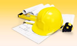 Construction engineering Royalty Free Stock Photography