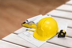Construction engineering Royalty Free Stock Images