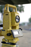 Construction and engineering tool, total station Royalty Free Stock Photos