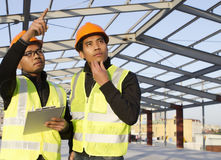 Construction engineers Stock Image