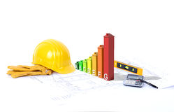 Construction environmentally friendly Royalty Free Stock Photography