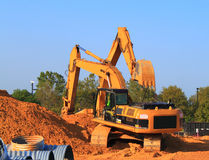 Construction Equipment Stock Image