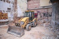 Construction equipment bulldozer Royalty Free Stock Photos