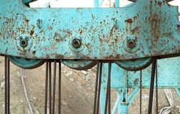 Construction Equipment Detail Stock Image