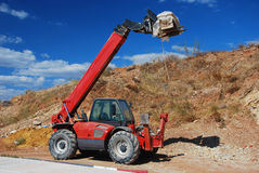 Construction equipment - machine Stock Photography