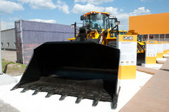 Construction Equipment and Technologies 2013 in the exhibition center Crocus Expo in Moscow Royalty Free Stock Images
