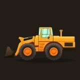 Construction equipment vector illustration. Stock Image