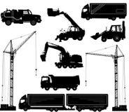Construction equipment. Vector illustration Stock Photo