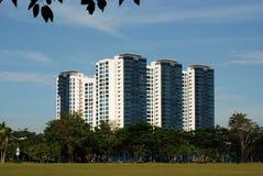 Construction et gratte-ciel modernes image libre de droits