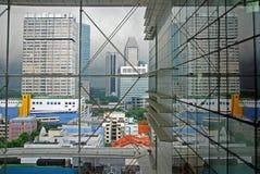 Construction et gratte-ciel modernes photos stock
