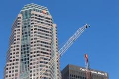 Construction et grues Image libre de droits