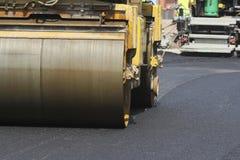 Construction et réparation de la route Photos libres de droits