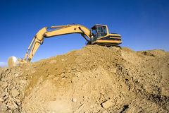 Construction Excavator Royalty Free Stock Image
