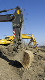 Construction excavator Stock Image