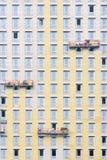 Construction externe de mur Photographie stock
