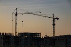 Free Construction Falls Asleep At Night Stock Images - 182809954