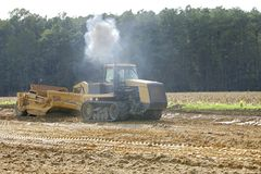 Construction farming Stock Photo