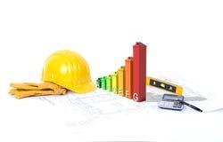 Construction favorable à l'environnement Photographie stock libre de droits