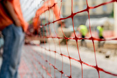 Construction fence Royalty Free Stock Images