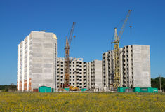 Construction field royalty free stock image