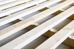 Construction of flooring in house Stock Photography