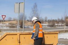 Construction foreman Royalty Free Stock Photo