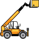 Construction Forklift Stock Images