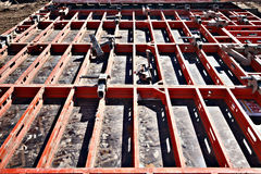 Construction formwork Stock Photos