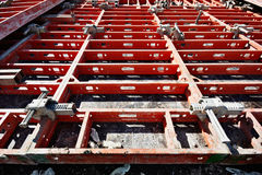 Construction formwork Stock Images
