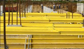 Construction formworks Royalty Free Stock Photography