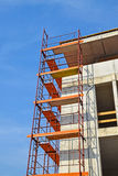 Construction frames at the construction site. In the city royalty free stock image