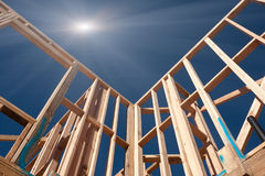 Construction Framing Abstract Royalty Free Stock Images